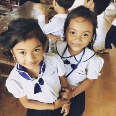 カンボジアでチャイルドケア&地域奉仕活動 M.Y.
